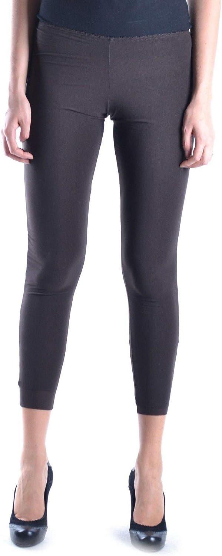 Almeria Women's MCBI11821 Brown Black Polyamide Leggings