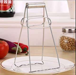ST park Stainless Steel Foldable Dish Plate Clip Tong, Hot Pot Dish Plate Clip