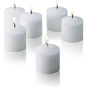 2 ball shaped  yellow candles 10 hrs burning time weddings
