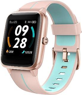 UMIDIGI Smartwatch Uwatch3 GPS, 1,3-inch waterdicht touchscreen en ingebouwde GPS-sporthorloge, fitnesstracker met slaapmo...