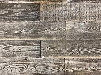 Smart Paneling 11235 Thermally-Modified Barn Wood Wall Planks Gray 12 Piece