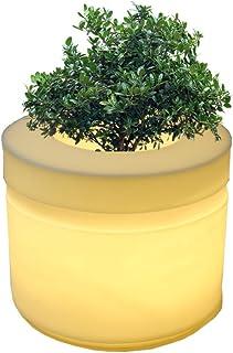yuccabe italia LED Cyl 24 Inches Planter