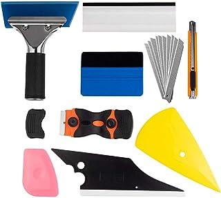 zhuohua Window Tint Application Tools 1 Set, 9 PCS Window Tint Tools for Vehicle Film Including Window Squeegee, Scraper, ...