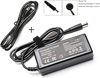 65W Laptop Charger AC/DC Adapter for HP Pavilion G4 G6 G7 M6; EliteBook 2540p 2560p 2570p 2730p 2740p 2760p 6930p 8440p 8460p Revolve 810, 820-G1, 820-G2, 840-G1, 840-G2, 850-G1, 850-G2 Folio 9470m