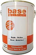 Base Line Houtbeits op waterbasis bruin buiten 5 liter