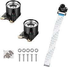 SainSmart Infrared Night Vision Surveillance Camera + 2 Infrared Light For Raspberry Pi (Not for Arduino