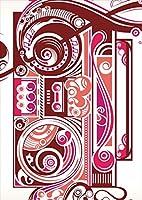 igsticker ポスター ウォールステッカー シール式ステッカー 飾り 841×1189㎜ A0 写真 フォト 壁 インテリア おしゃれ 剥がせる wall sticker poster 001548 ユニーク 音楽 音符 ラジオ