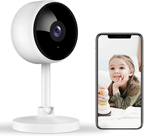 Home Security Camera, Littlelf 1080P FHD Indoor WiFi Wireless Camera with 2-Way Audio, Night Vision, Motion Detection...