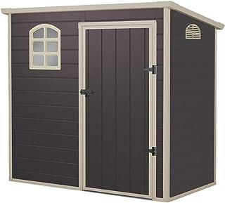 comprar comparacion Gardiun KSP38105 - Caseta de Resina Flat Roof 2,12 m2