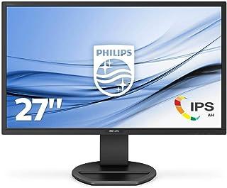 """Philips 272B8QJEB/00 27"""" 四高清液晶显示器 IPS,黑色"""