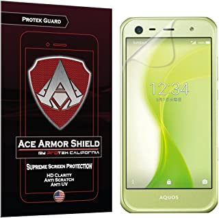 Ace Armor Shield Protek Guard Screen Protector for The Sharp Aquos Xx3 Mini with Free Lifetime Replacement Warranty