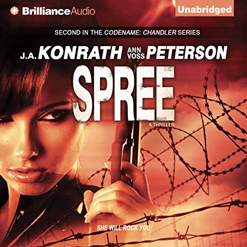 Spree: A Thriller audiobook cover art