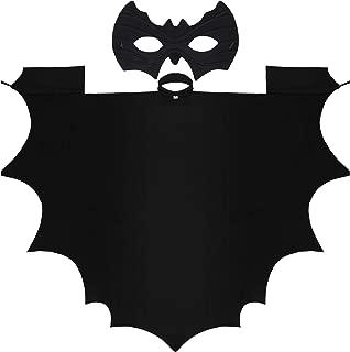 Kids Bat Vampire Wings Halloween Wings Vampire Bat Costume Accessories and Bat Eye Mask