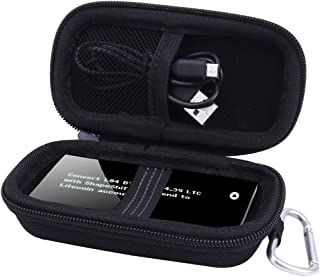 Storage Carrying Case for KeepKey Simple Cryptocurrency BTC Bitcoin Wallet Hardware by Aenllosi (Black)