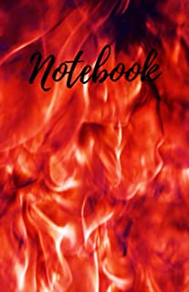 Notebook: 5.5'x8.5' 120 pages Bonfire cover