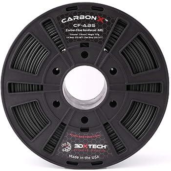 CARBONX Carbon Fiber ABS 3D Printing Filament, 2.85mm, 500G