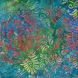 Fabric Freedom Sky Blau Enigma Design 100% Baumwolle Bali