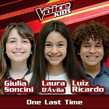 One Last Time (Ao Vivo / The Voice Brasil Kids 2017)