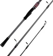 SeaKnight Kraken Fishing Rods, 30T-40T X-Shaped Carbon Fiber, Fuji Guides, Spinning &Casting Rods for Bass Fishing, 2-pc Fishing Rods for Fresh & Saltwater