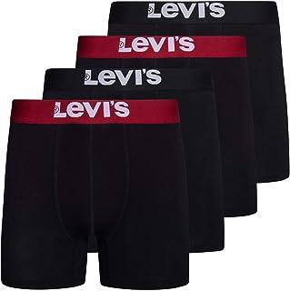 Mens Stretch Boxer Brief Underwear Breathable Stretch Underwear 4 Pack