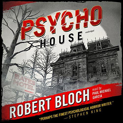 Psycho House audiobook cover art