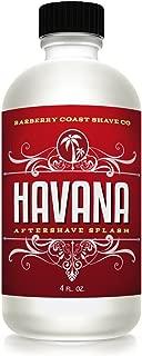 Sale Havana Aftershave Splash for Men - Pure & Natural Ingredients - Scent: Tobacco, Cocoa Beans, Vanilla, Peruvian Clove, Patchoulli