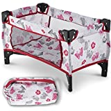 Litti Pritti Take Along Travel Crib Pack and Play Accessory for Dolls - Perfect for 18' Dolls
