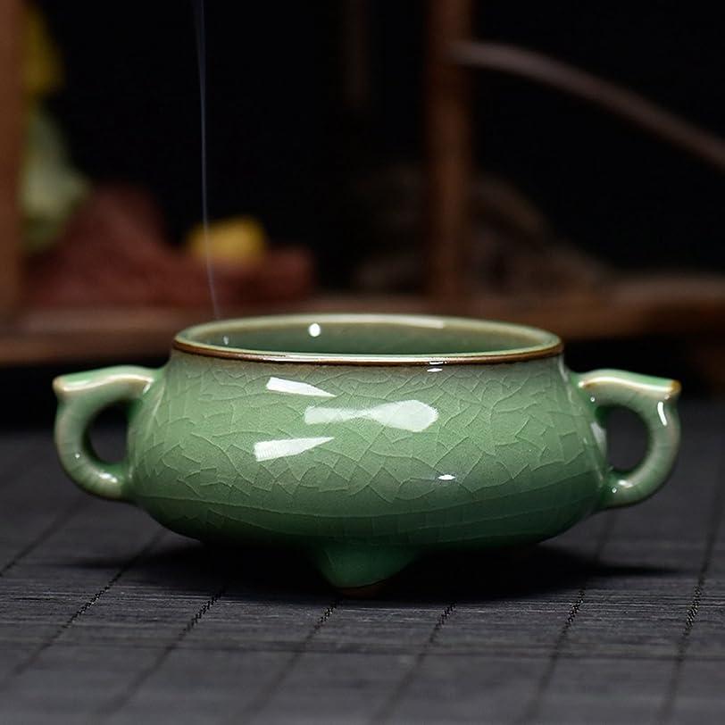 解説ピボットデュアル(ラシューバー) Lasuiveur 陶磁器 香炉 香立て 渦巻き線香 線香立て お香立て