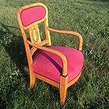 Biedermeier Sessel Fauteuil. Eleganter und bequemer Sessel Armlehnstuhl aus Kirschbaum Österreich, um 1825 / 1835. Sitzmöbel mit feinen Intarsien. Selten! Wohnzimmer Schlafzimmer Arbeitszimmer Empire