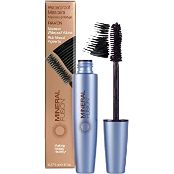 Mineral Fusion Waterproof Mascara, Raven (Packaging May Vary)