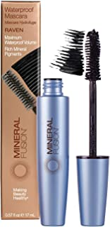 Mineral Fusion Waterproof Mascara, Raven (Packaging May Vary)