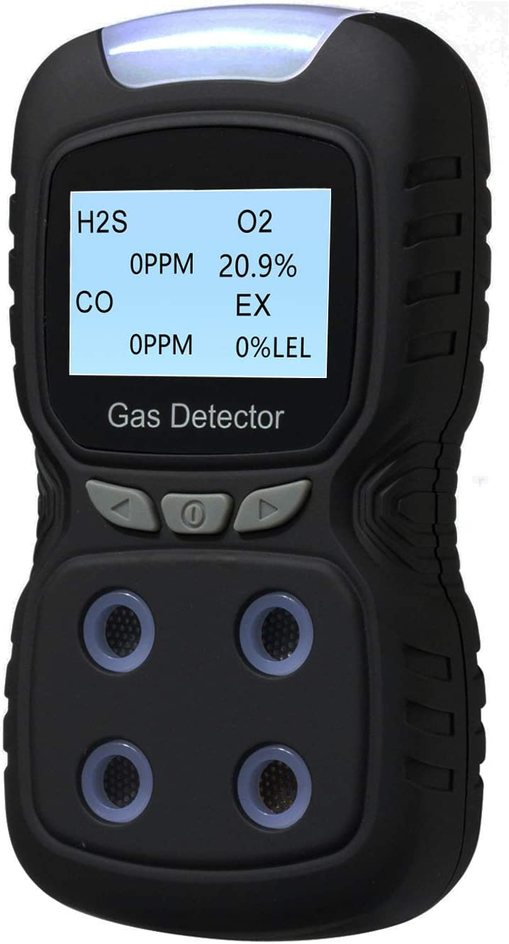 Gas Detector 4 in 1 Rechargeable Meter Portable 4-Gas Luxury T Max 50% OFF Monitor