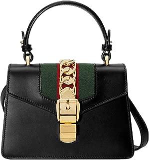 Classic Sylvie mini Bag Canvas Glace Fashion Shoulder Handbag