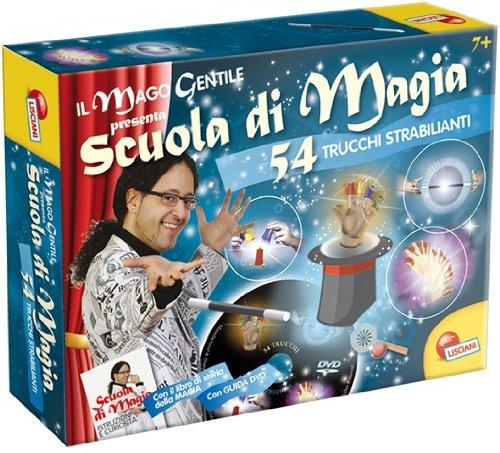 Liscianigiochi 35632 Scuola di Magia Kit di Magia, 54 Trucchi