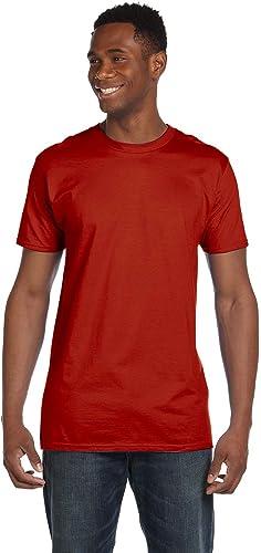 4980 Nano T-Shirt pour Homme 1 Rouge Profond + 1 Vintage Navy XL