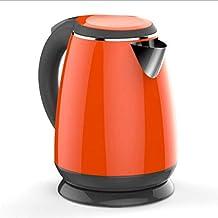 Waterkoker voor snelkookkan, droogkookbeveiliging, automatische uitschakeling, 1500 ml oranje