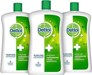 Dettol Original Germ Protection Handwash Liquid Soap Jar, 900ml (Pack of 3)