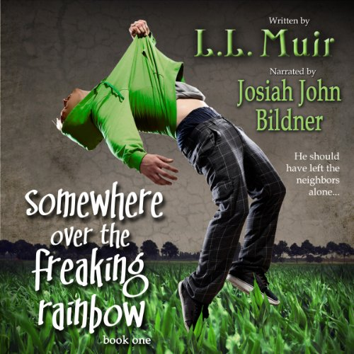 Somewhere Over the Freaking Rainbow audiobook cover art