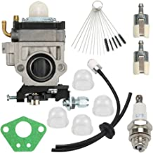 Wellsking WYK-66 Carburetor for RedMax Red Max EB4300 EB4400 EB4401 EB431 EB7000 EB7001 Backpack Leaf Blower + Primer Bulb Fuel Line Filter