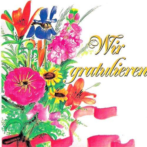 16 Ständchen und Glückwünsche (CD) die dominos und das orchester h. w. kleve - wir gratulieren dem geburtstagskind tölzer knabenchor,ltg. gerhard schmidt gaden - herzlichen glückwunsch camillo felgen - alles gute für dich dhünntaler musikanten - glückwunsch-polka henry vahl ma u.a.