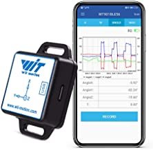 WitMotion WT901BLECL BLE 5.0 AHRS MPU9250 10-axis Accelerometer, 3-axis Angular Velocity+Acceleration+Angle+Magnet Field (Low-Consumption Ble5.0 Compatible with iOS/Android) for Arduino and More