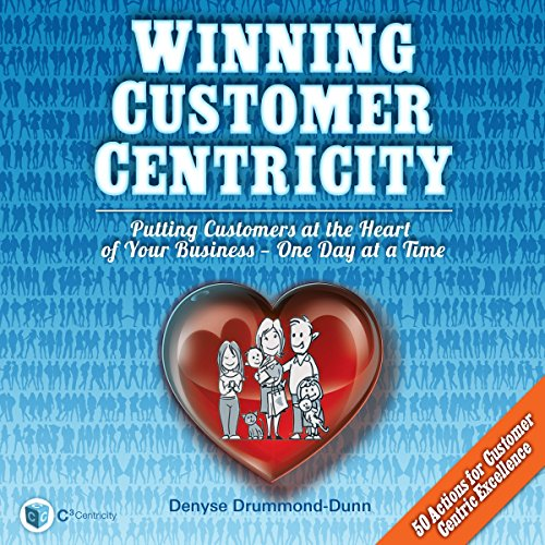 Winning Customer Centricity audiobook cover art