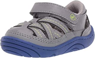 Stride Rite Unisex-Child Kyle Baby/Toddler Girl's and Boy's Casual Double-Strap Sneaker