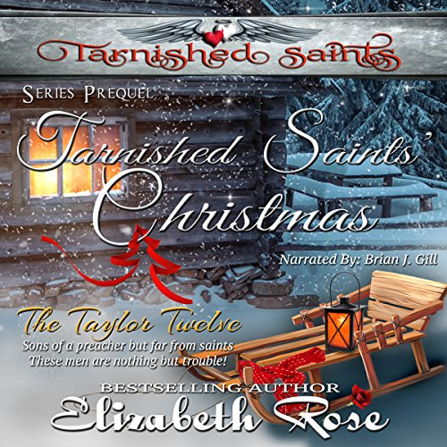 Tarnished Saints' Christmas audiobook cover art