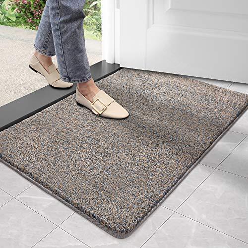 DEXI Dirt Trapper Door Mat,Non-slip Barrier Mats for Indoor and Outdoor,Super Absorbent Entrance Rug...