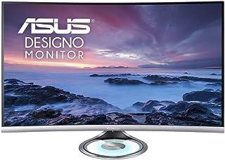 ASUS Monitor DESIGNO Curve MX32VQ 31,5 , LED, Curvado, 2560 X, 1440 WQHD, VA 300, CD/M², 3000:1, 4 MS, 2XHDMI, DISPLAYPORT, Altavoces Negro, Gris Espacio
