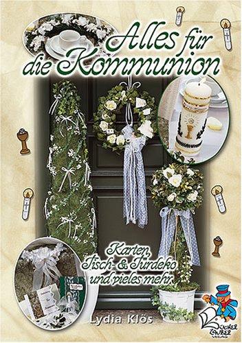 Alles für die Kommunion - Karten, Tisch- und Türdeko und vieles mehr