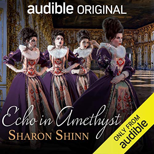 Echo in Amethyst audiobook cover art