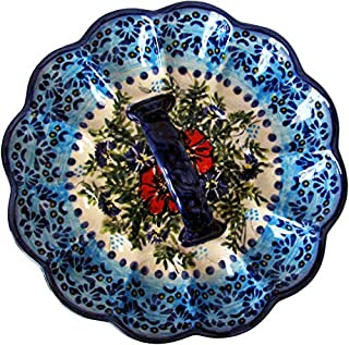 Boleslawiec Polish Pottery Deviled Egg Serving Plate Eva's Collection