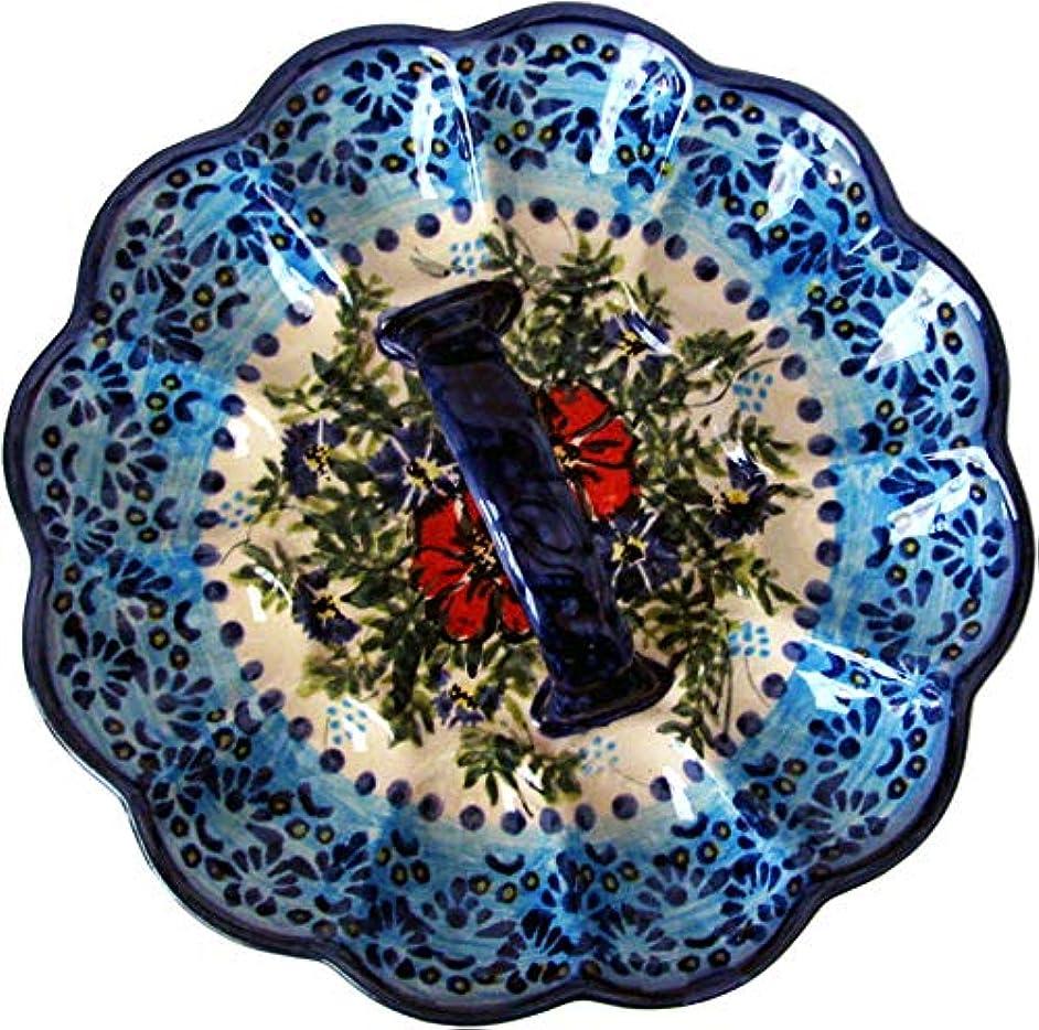 Boleslawiec Polish Pottery Deviled Egg Serving Plate Eva's Collection
